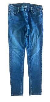 Calça Jeans Massimo Dutti  Feminina Reta