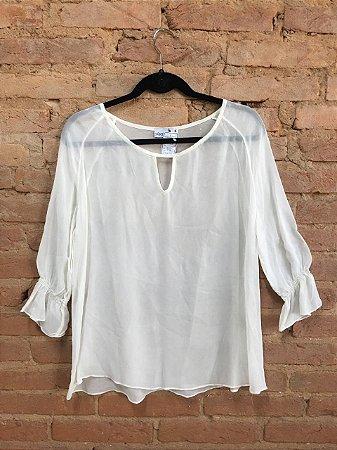 Camisa Mammy Feminina Creme Transparente