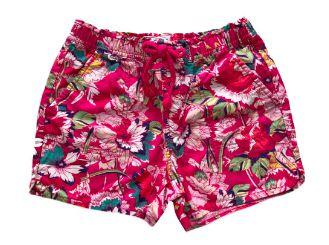 Shorts GAP Infantil Pink com Estampa de Flores