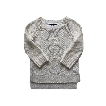 Malha Gap Kids Tricot Off White