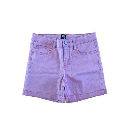 Shorts Gap Jeans Rosa (nunca usado)