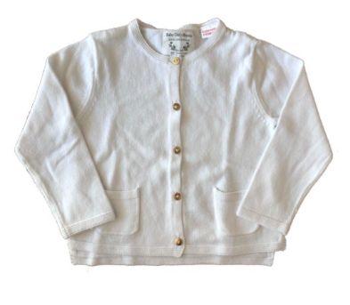 Casaquinho Zara Infantil Branco