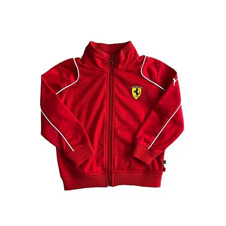 Jaqueta Vermelha Ferrari