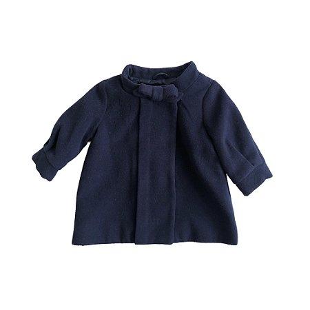 Sobretudo Baby Gap Infantil Azul Marinho