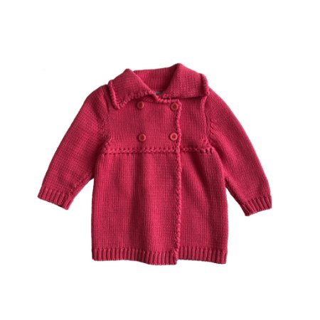 Blusa Tyrol Infantil Tricot Rosa