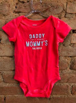 Bodie Carter's Vermelho Daddy e Mommy's
