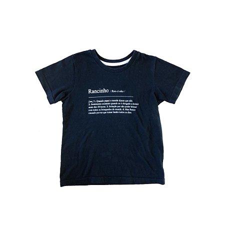 Blusa Póim Infantil Preta Rancinho