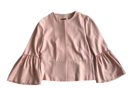 Casaco Zara Feminino Rosê