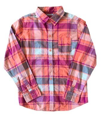 Camisa Okaidi Infantil Xadrez