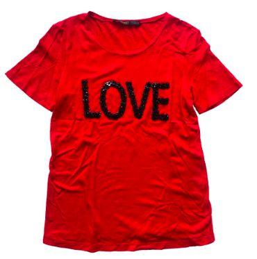 Camiseta ANIMALE Feminina Vermelha Love