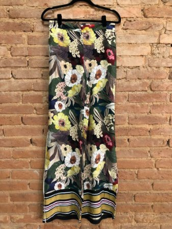 Pantalona Zara Feminina Estampada