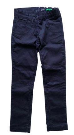 Calça Benetton Infantil Azul Marinho Skinny Stretch