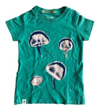 Camiseta Richards Verde Água Vivas