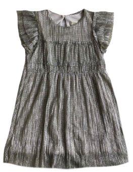Vestido Zara Infantil Prata
