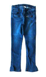 Calça LE LIS BLANC Jeans Escura com Zíper na frente