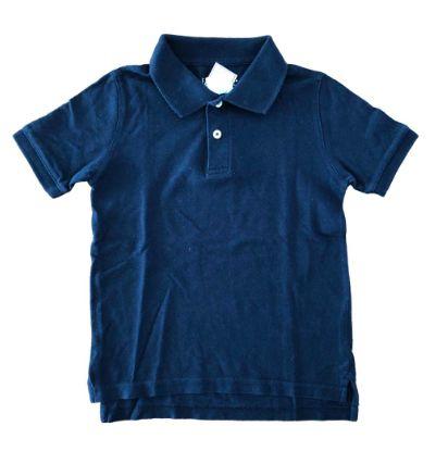 Polo Faded Glory Infantil Azul Marinho