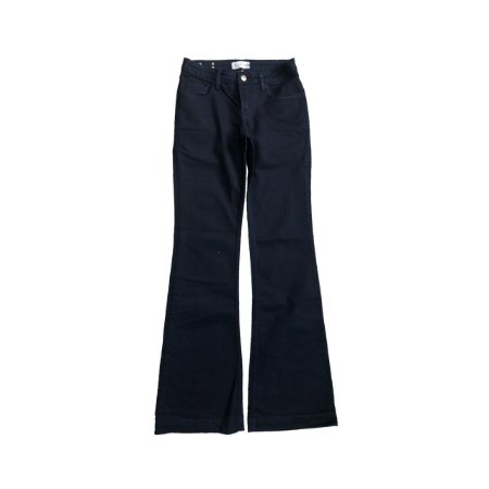 Calça LÉTAGE  Jeans Azul Marinho Flare