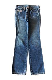 Calça Diesel Feminina Jeans (mais gasta)