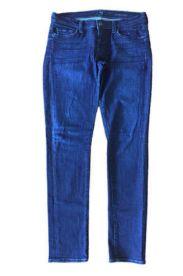 Calça SEVEN Jeans Escura com Barra Desfiada