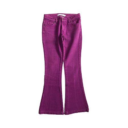 Calça ATEEN  Fucsia Jeans