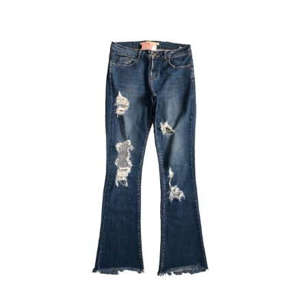 Calça ZARA Jeans Destroyed (Manchada)
