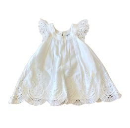 Vestido HERING Infantil Branco Lesie