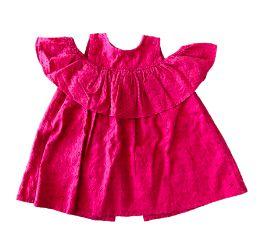 Vestido ZARA Infantil Vermelho em Lesie
