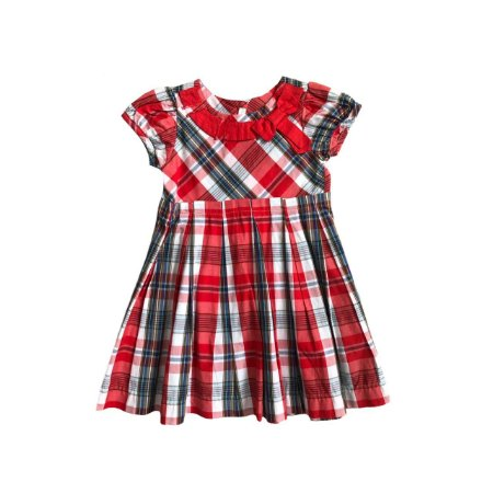 Vestido BEIJA FLOR Vermelho Xadrez