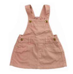 Jardineira ZARA Infantil Rosa