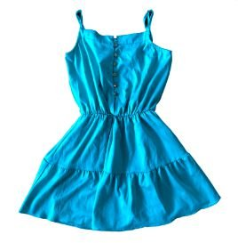 Vestido SPEZZATO TEEN Verde Água