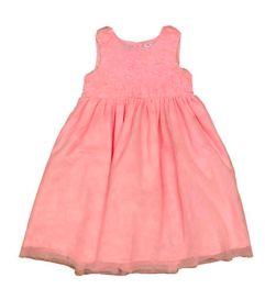Vestido CARTER'S Rosa Bebê em Tulê