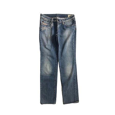Calça Jeans Claro DIESEL com Bordado no Bolso