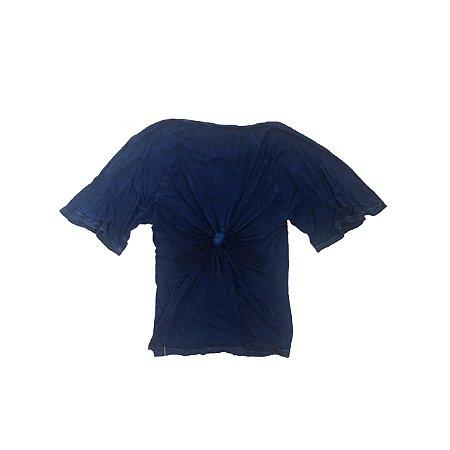 Blusa MOB Azul Marinho Malha