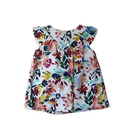 Vestido ZARA Infantil Florido