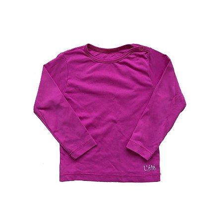 Camiseta L'ÉTÉ Pink Praia