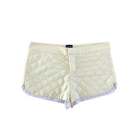 Shorts a.m. Ana Mac Amarelo