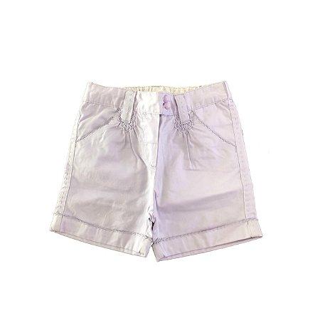 Shorts Chicco Infantil Lilás