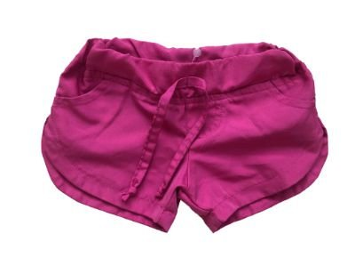 Shorts MINI VIDA Infantil Rosa Tactel