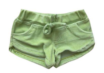 Shorts MINI VIDA Infantil Verde em Plush