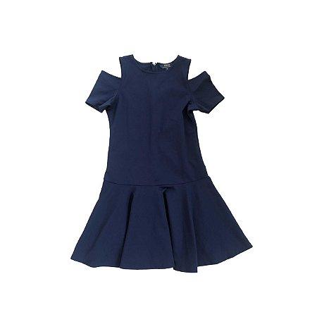 Vestido RALPH LAUREN Infantil Azul Marinho