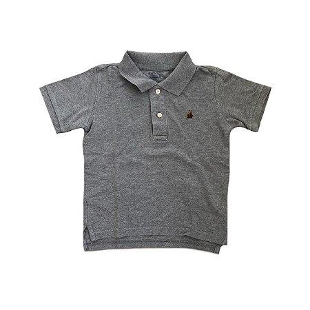 Camiseta Polo baby GAP Cinza