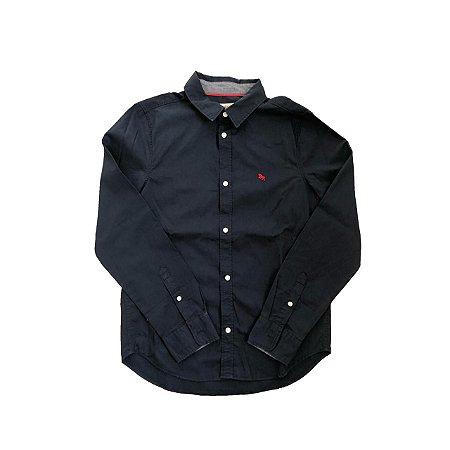 Camisa H&M Infantil Marinho