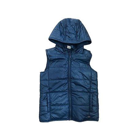 Colete Nylon PUC Infantil Azul