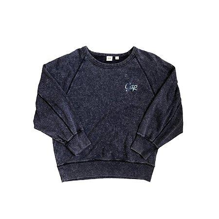 Moletom GAP Feminino Azul Tie Dye