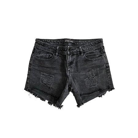 Shorts Jeans SHOP 126 Preto