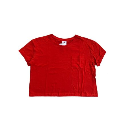 Camiseta Croped I LOVE BASIC Laranja