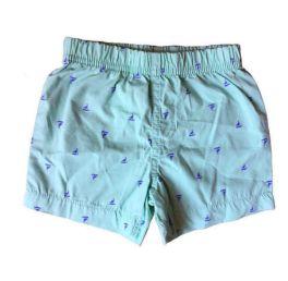 Shorts CARTER'S Verde Barquinhos