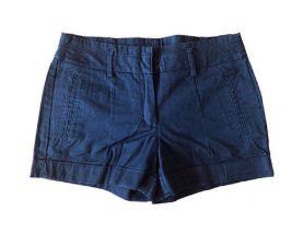 Shorts ZARA Feminino Azul Marinho
