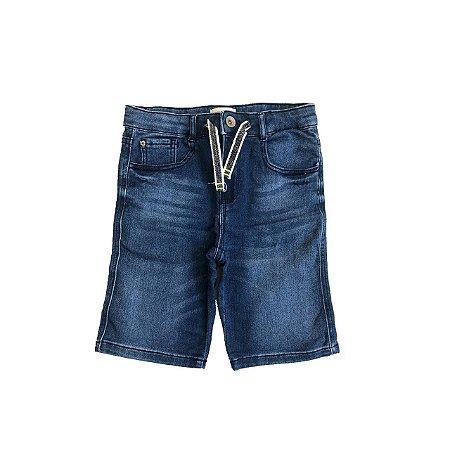 Bermuda ZARA KIDS Jeans com Stretch