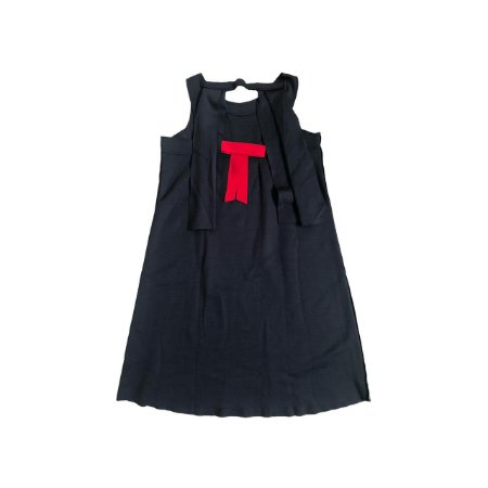 Vestido FIT NINA Infantil Marinho em Moletom